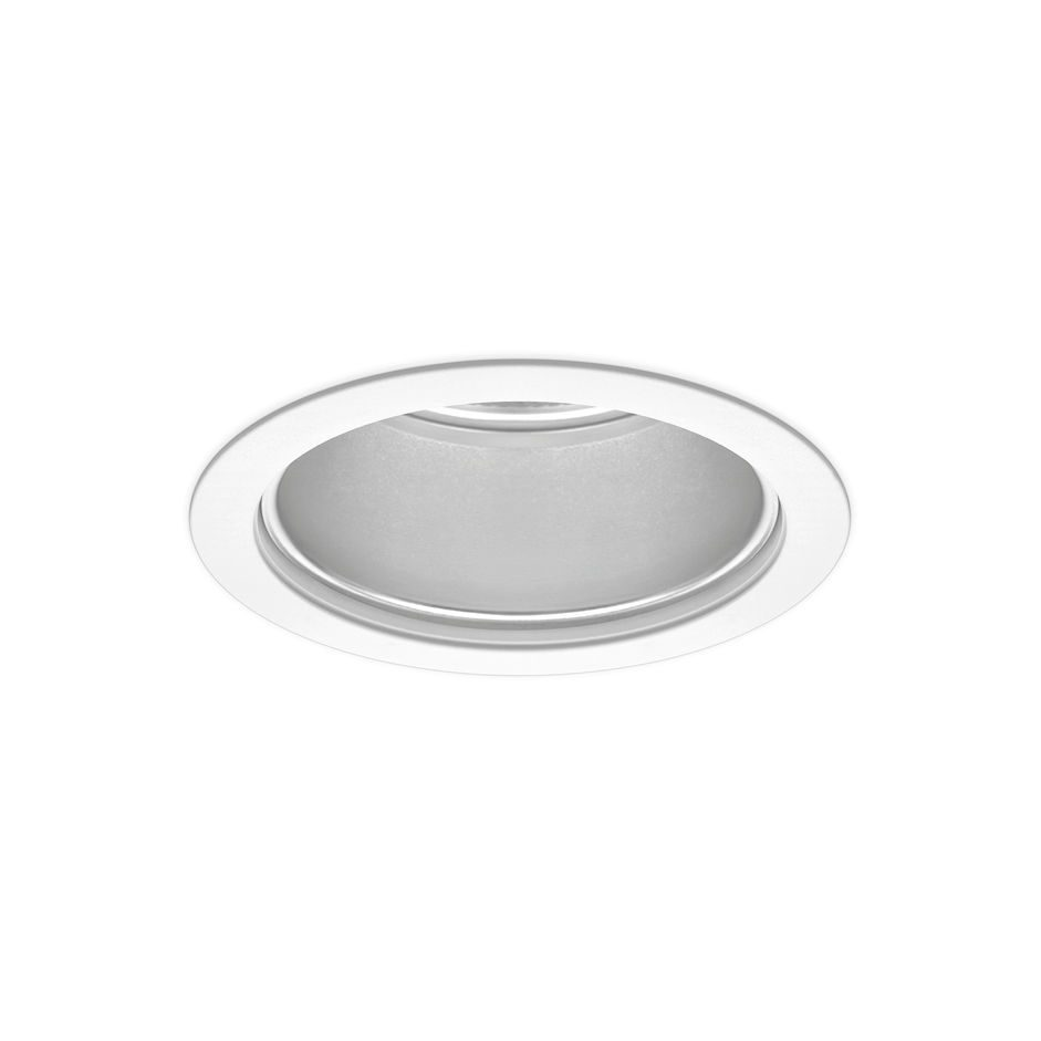Recessed downlight / LED / round / tempered glass